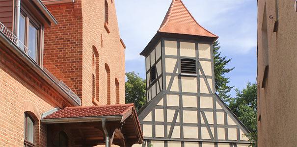 Dorfkirche Bergholz, Gemeinde Nuthetal - Foto: Helge May