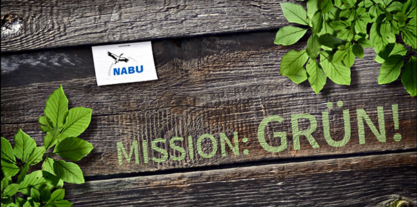 Mission Grün Aktionsbils - Foto: NABU