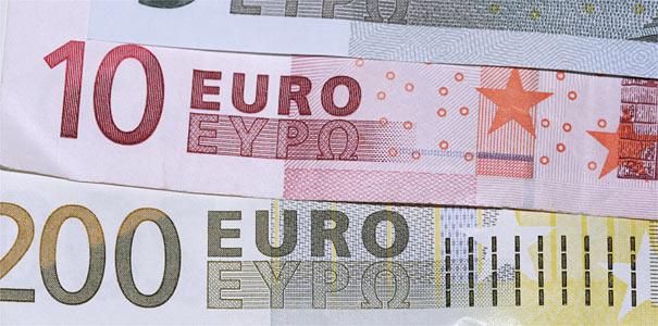 Euro-Scheine - Foto: Helge May