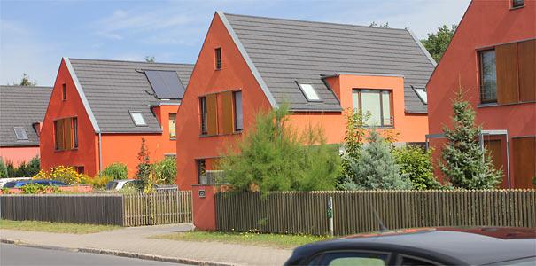 Einfamilien-Wohnhäuser - Foto: Helge May