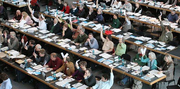 Bundesvertreterversammlung 2010 in Lübeck - Foto: NABU/Eric Neuling