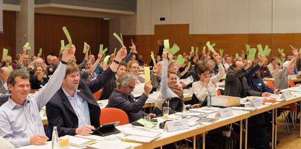 Delegierte auf der BVV 2012 - Foto: NABU/Claus Kiefer