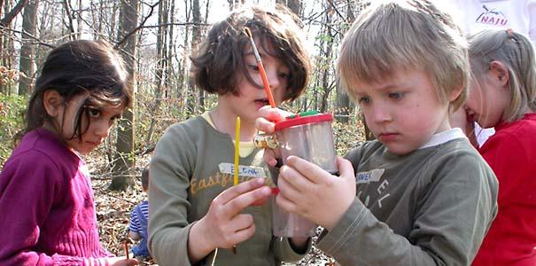 Junge Forscher - Foto: NAJU NRW